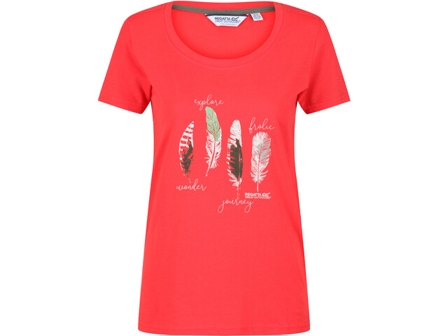 Regatta Filandra IV T-Shirt Women red sky